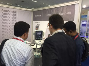 AcuVista at Medical Fair India 2017